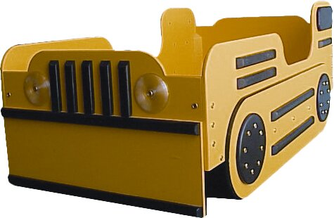 Just Kids Stuff Bulldozer Toddler Car Bed Reviews Wayfair