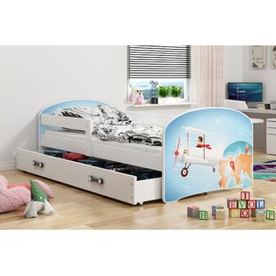 Alizeh European Toddler Cabin Bed With Drawer By Zoomie Kids
