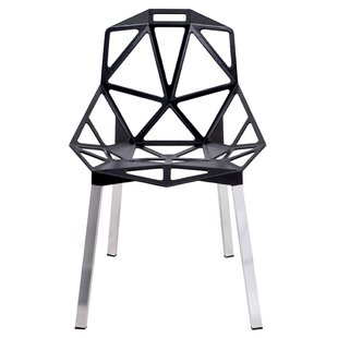 Melcher Modern Dining Chair (Set of 4) Ivy Bronx