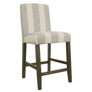 Warrensville Stripe 24 Bar Stool