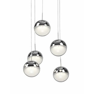 Tabora 5-Light Pendant by Radionic Hi Tech
