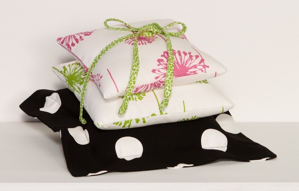Hottsie Dottsie Cotton Pillow