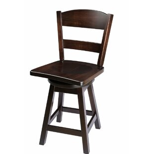 Canyon 30 Swivel Bar Stool Loon Peak