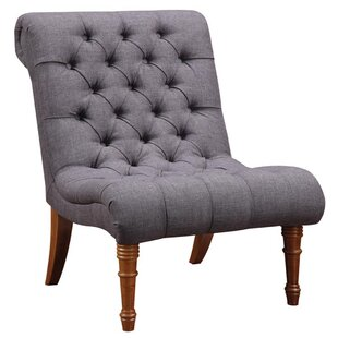 Alnwick Armless Accent Slipper Chair