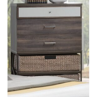 Gracie Oaks Andromeda 3 Drawer Chest
