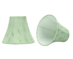 6 Fabric Bell Candelabra Shade (Set of 2)