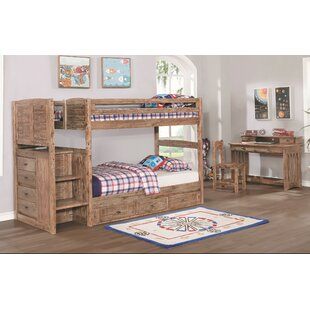 Adelynn Twin over Twin Bed with Drawers