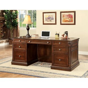Savings Ardnaglass Traditional Wood Executive Desk ByDarby Home Co