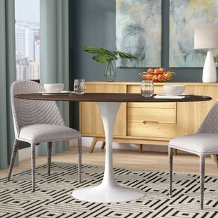 Reviews Julien Walnut Dining Table By Langley Street