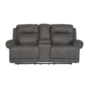 Red Barrel Studio Culver Double Console Reclining Loveseat