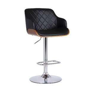Jaxxon Adjustable Height Swivel Bar Stool..