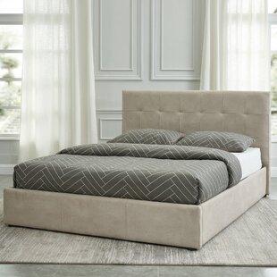 Merida Queen Upholstered Storage Platform Bed