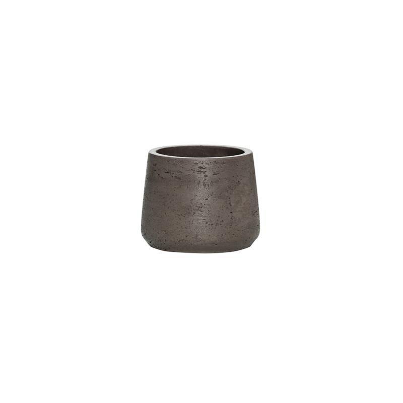 Petite Rough Textured Fiberstone Pot Planter by Vasesource
