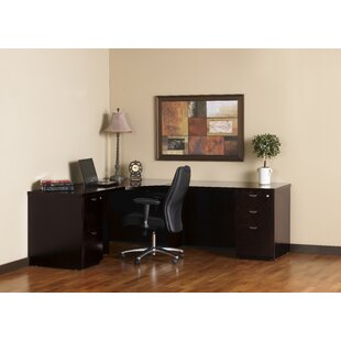 Mira Series Corner Desk Typical #31 by Mayline Group Fresh