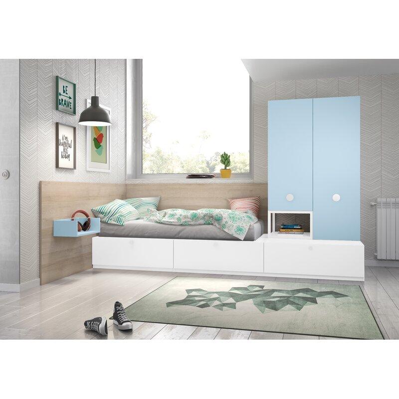 isabelle  max stanley 3 piece bedroom set  wayfaircouk