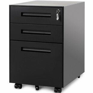 Jersi 3 Drawer Vertical Filling Cabinet By Ebern Designs