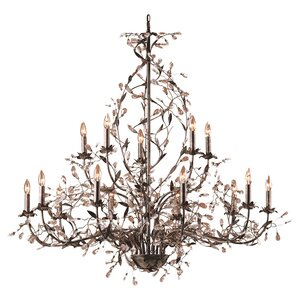 15-Light Crystal Chandelier