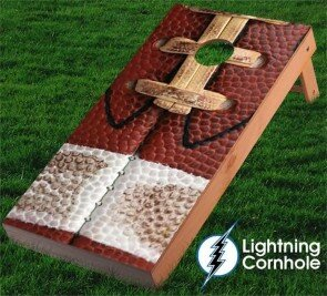 Lightning Cornhole Footbal..