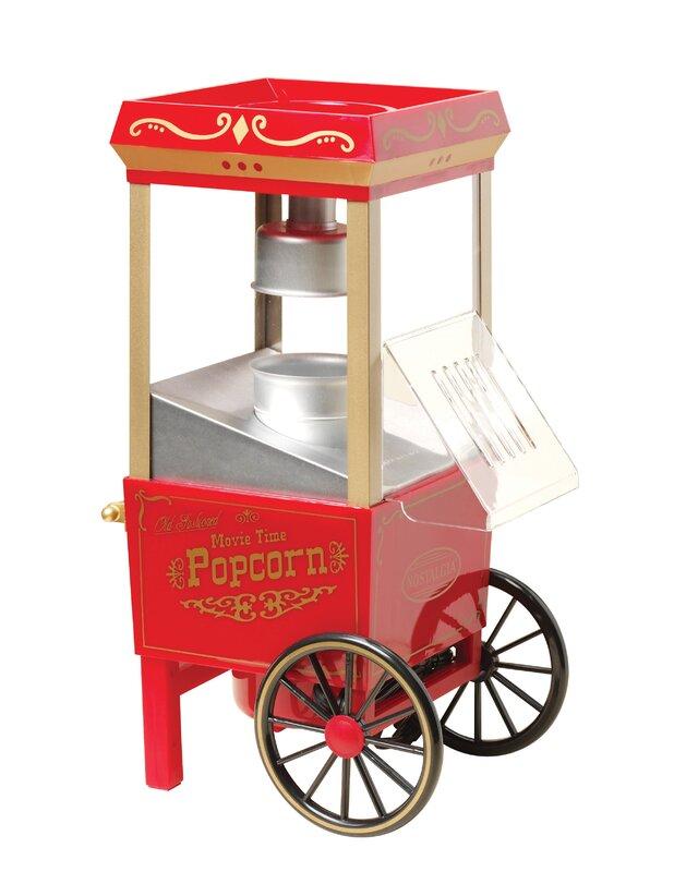 Marvelous Old Fashioned 3.5 Oz. Movietime Hot Air Popcorn Maker