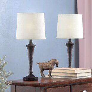 Coupon Beattie 17 Table Lamp (Set of 2) By Alcott Hill
