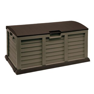 Starplast 103 Gallon Plastic Deck Box
