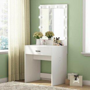 Small Bedroom Vanities You\'ll Love in 2019 | Wayfair