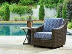 Cypress Point Ocean Terrace Patio Chair with Cushion
