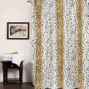 Animal Print Single Shower Curtain