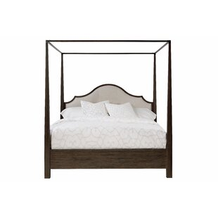 Mistral Upholstered Low Profile Canopy Bed by Fine Furniture Design