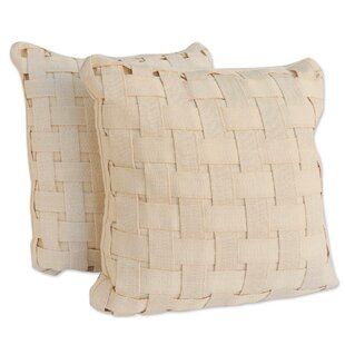 Mceachern Homestead Weave Cotton Throw Pillow (Set of 2)