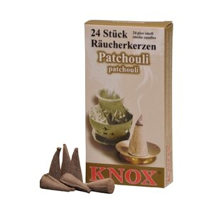 Knox Patchouli Scent Incense (Set of 24)