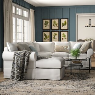 Jameson Slipcovered U-Shaped Sectional