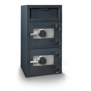 Double Door Electronic Lock Depository Safe by