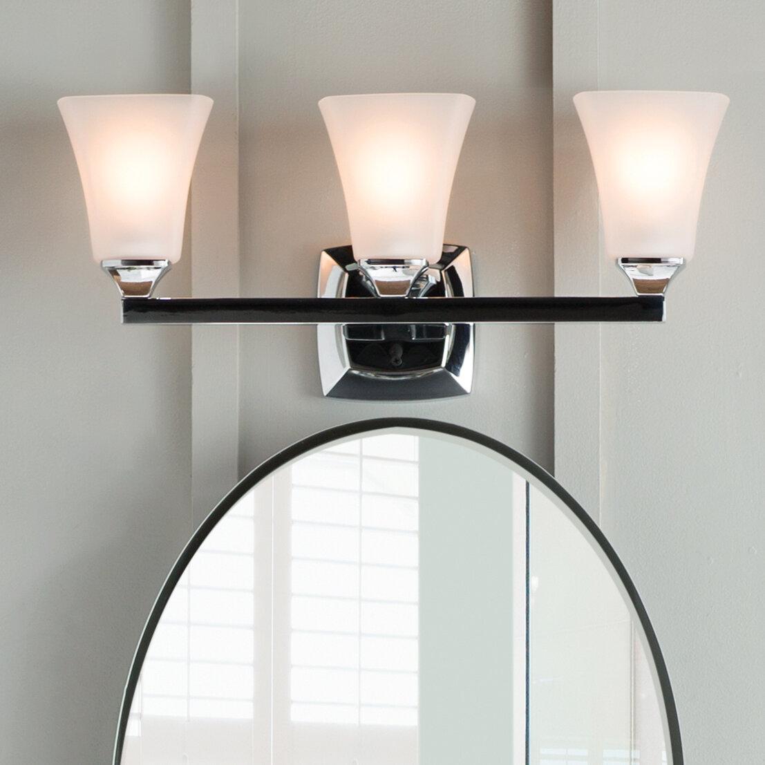 Moen Voss 3 Light Vanity