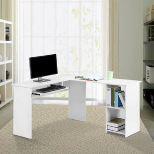Seaton L-Shape Executive Desk with Hutch