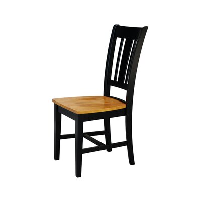 Remarkable Malcolm Solid Wood Dining Chair August Grove Color Blackcherry Pabps2019 Chair Design Images Pabps2019Com