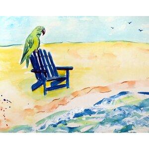 Parrot and Chair Doormat