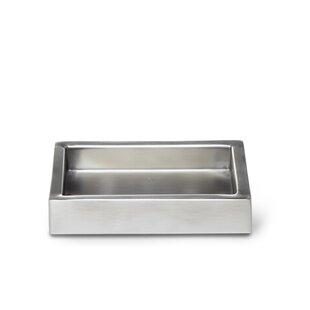 Roselli Trading Company Modern Satin Soap Dish