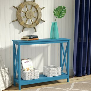 Aqua Console Table | Wayfair