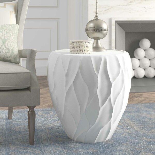 Bernhardt Pyrite Drum Table Perigold
