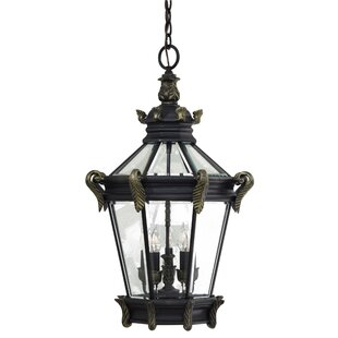 Great Outdoors by Minka Stratford Hall 5-Light Outdoor Hanging Lantern