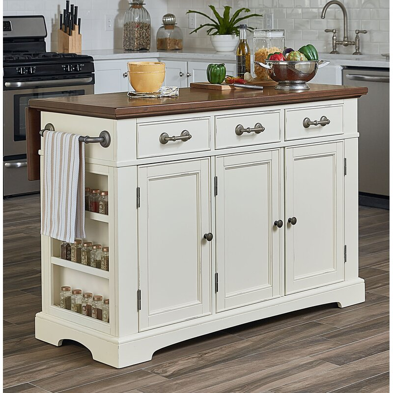 Darby Home Co Maile Large Kitchen Island