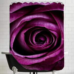 Rose of Love Valentine Shower Curtain