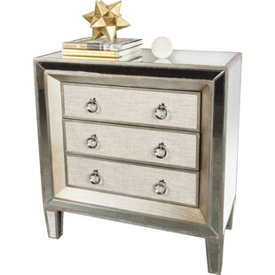 House of Hampton Kavia 3 Drawer Accent chest
