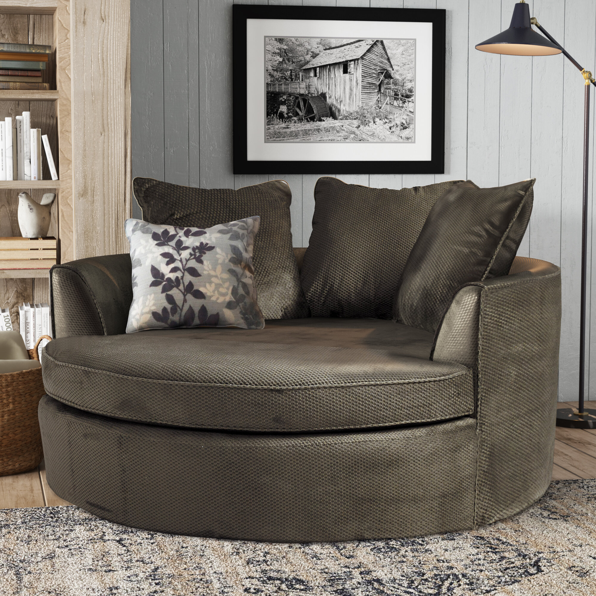 Picture of: Laurel Foundry Modern Farmhouse Marta Barrel Chair Reviews