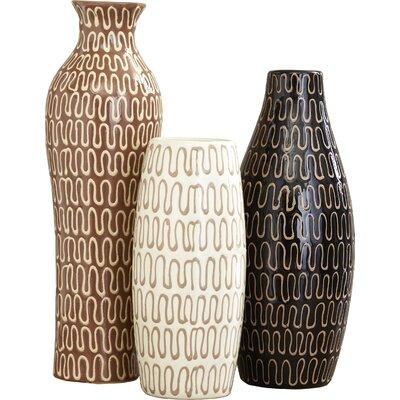 3 Piece Tolek Vase Set Reviews Allmodern