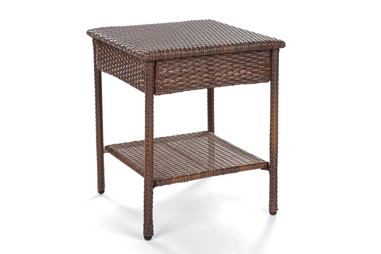 Dendy Wicker Side Table