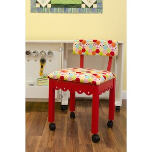 Sewing Underseat Storage Side Chair by Arrow..