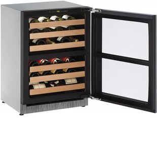 43 Bottle 2000 Series Dual Zone Built-in Wine Cooler