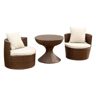 Banker 3 Piece Conversation Set with Cushions